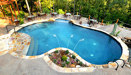 swimming pool installation in Atlanta